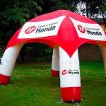 tenda-inflável-consorcio nacional honda