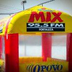 tenda-inflável-mix 95.5 fm fortaleza