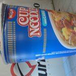 Réplicas infláveis Cup noodles Nissin