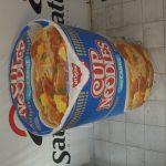 Réplicas infláveis Cup noodles