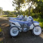 Réplicas infláveis motos