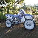 Réplicas infláveis moto