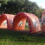 Réplicas infláveis refrigerante Tubaina