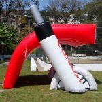 Tenda inflável Consórcio Honda