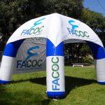 Tenda inflável Facoc