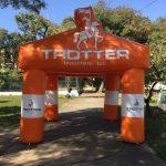 Tenda inflável Trotter