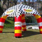 Tenda inflável Evoke veículos