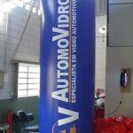 totem inflável AutomoVidros